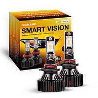 Светодиодные автолампы HB3 CARLAMP Smart Vision Led для авто 8000 Lm 4000 K (SM9005Y), фото 1