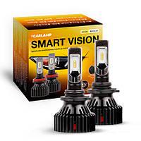 Светодиодные автолампы HB4 CARLAMP Smart Vision Led для авто 8000 Lm 4000 K (SM9006Y), фото 1