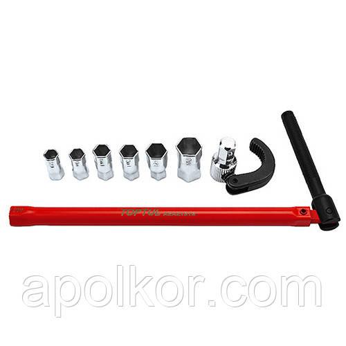 Ключ универсальный самозажимной 9-32мм 8ед.  TOPTUL GNBA0801