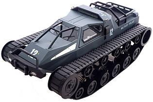 Машинка вездеход на радиоуправлении 1:12 Pinecone Model Military Police (серый)