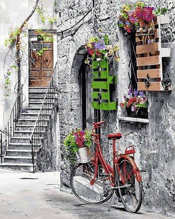 MR-Q2242 Набір живопису за номерами Квіткова вулиця, фото 2