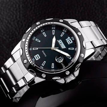 Skmei Спортивные мужские наручные часы Skmei Robby Steel 0992S