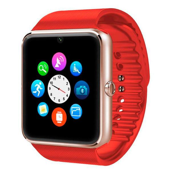 UWatch Умные смарт часы с сим-картой 2018 года Smart GT08 5042 Red