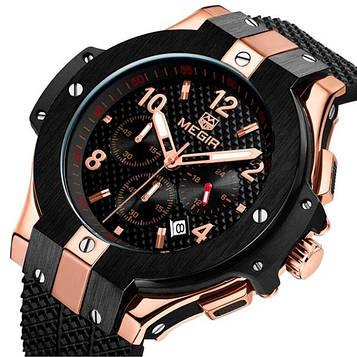 Megir Мужские спортивные кварцевые часы Megir Zurich 1057