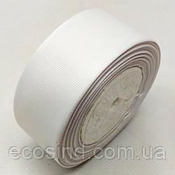 Лента репсовая 4 см. (38-40мм) белая (СИНДТЕКС-0805)