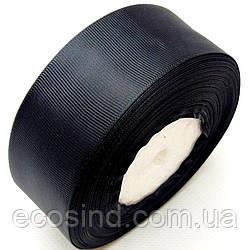 Репсова стрічка 4 див. (38-40мм) чорна (СИНДТЕКС-0806)