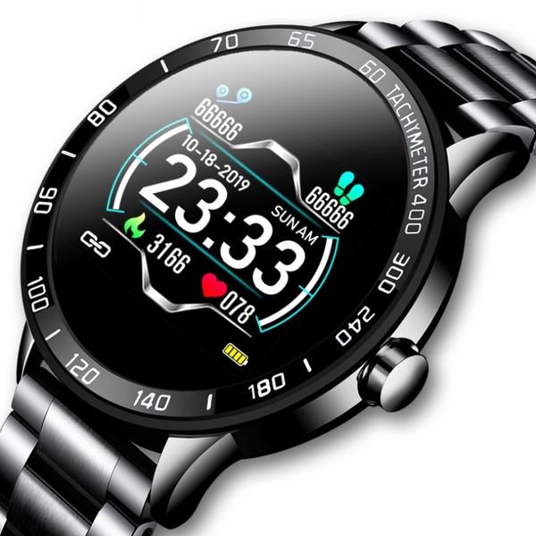Lige Смарт часы Smart Lige Omega Black