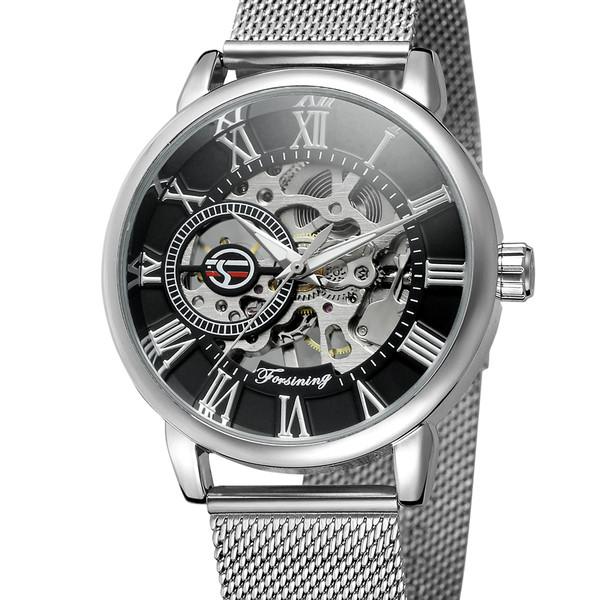 Forsining Мужские часы Forsining Aston Silver