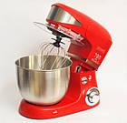 Кухонный комбайн тестомес Royalty Line PKM-1600 1600w, фото 6