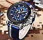 Lige Мужские часы Lige Bali Blue, фото 3