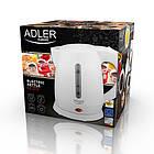 Электрочайник пластиковый Adler AD 1272 1,0 литр, фото 7
