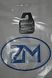 Узкий черньій галстук ZERMON  (4cм и 5.5 см), фото 4