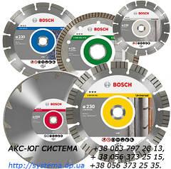 Алмазні відрізні круги Bosch для кутових шліфмашин