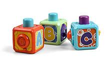 Lb Развивающая игрушка Kidian музыкальные интерактивные кубики M17-223465