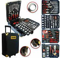 Профессиональный набор инструментов DMS 420 предметов с тележкой
