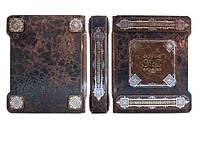 Альбом для монет - элитная кожаная подарочная книга