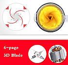 Блендер стаціонарний 2в1 (з млинком для кави) Royalty Line RL-SME600.6 800 Вт, фото 5