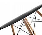 Кухонный стол 120 см и 4 стула AURORA Black, фото 3