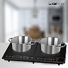 Индукционная двойная плита Clatronic DKI 3609 черный, фото 2