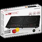 Индукционная двойная плита Clatronic DKI 3609 черный, фото 5