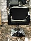 Парикмахерское кресло Tomas с подставкой для ног, фото 2