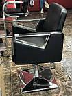 Парикмахерское кресло Tomas с подставкой для ног, фото 3
