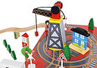 Железная дорога деревянная Kruzzel 9363, фото 5