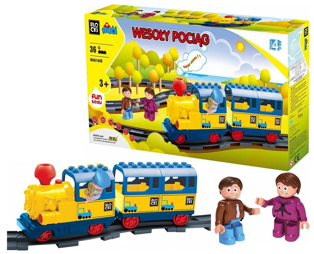 Железная дорога Mubi mu6188d Веселый поезд