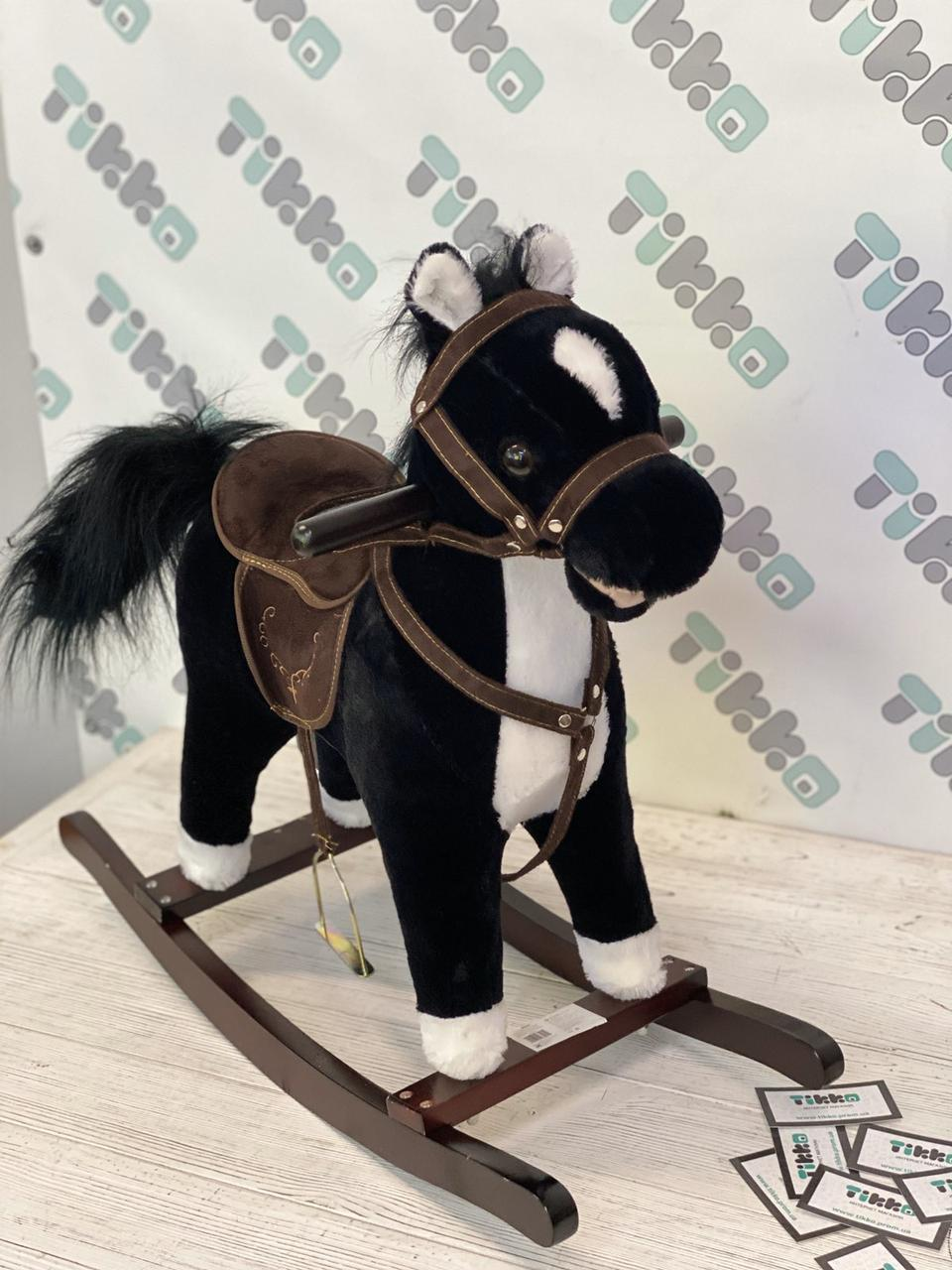 Лошадка качалка Kruzzel с мелодией 74 см