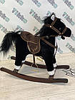 Лошадка качалка Kruzzel с мелодией 74 см, фото 4