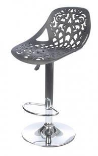 Барный стул N7 черный