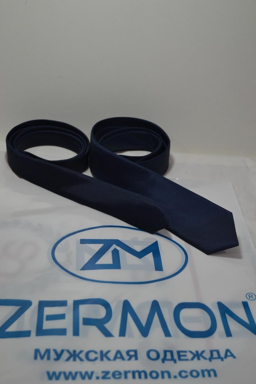 Узкий галстук ZERMON  (4 и 5,5 cм)