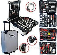 Профессиональный набор инструментов 395 предметов с тележкой