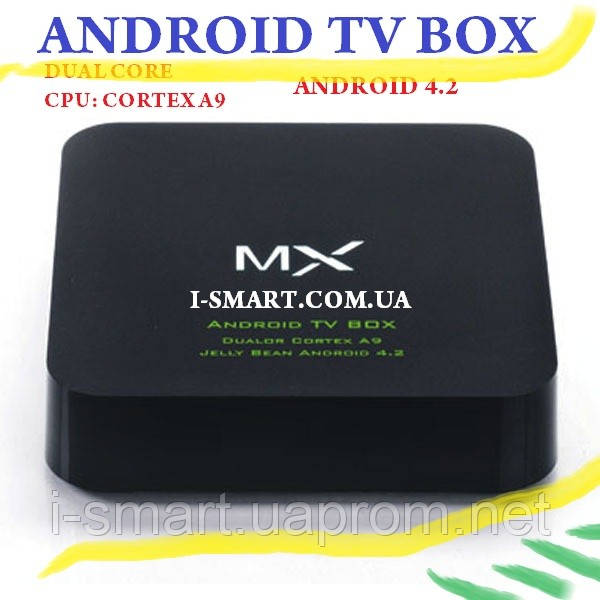 Android 4.2 3D Full HD TV BOX  WiFi HDMI Dual Core A9 1.5GHz 4GB + 4 USB