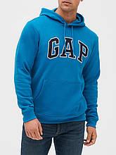 Мужская толстовка худи GAP кофта с капюшоном art696724 (Синий, размер XXL)