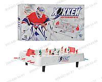 Настільні ігри: Хокей JT 0701 на штангах, на ніжках (5,5 см),51-28-15 см Дитячі ігри Подарунок малюку
