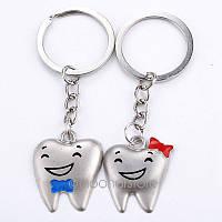 Брелки зубы, брелки для стоматолога