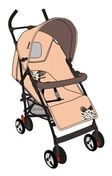 D209 детская коляска-трость, фото 2