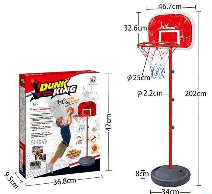 Баскетбол DUNK KING в коробке  XJ-E 00801 С