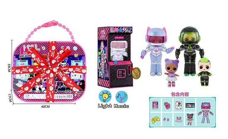 """Кукла LoL ЛоЛ """"Arcade heroes""""  TB 011"""