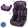 Автокрісло El Camino (9-36кг) ME 1008 JUNIOR (purple), фото 3