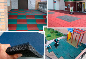 Покрытия для детских игровых и спортивных площадок