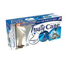 Складная трость с подсветкой Trusty Cane
