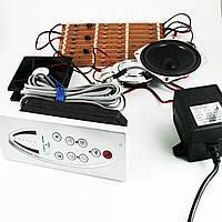 Блок управления, пульт душевой кабины кнопочный с радио и телефоном. ( 014 ) Полная комплектация