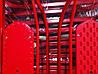 Cанки ADBOR PICCOLINO с регулируемой ручкой красный, фото 3