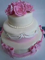 """Купить готовый торт """"свадебный №2"""""""