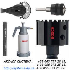 Свердла і коронки Bosch для мокрого свердління
