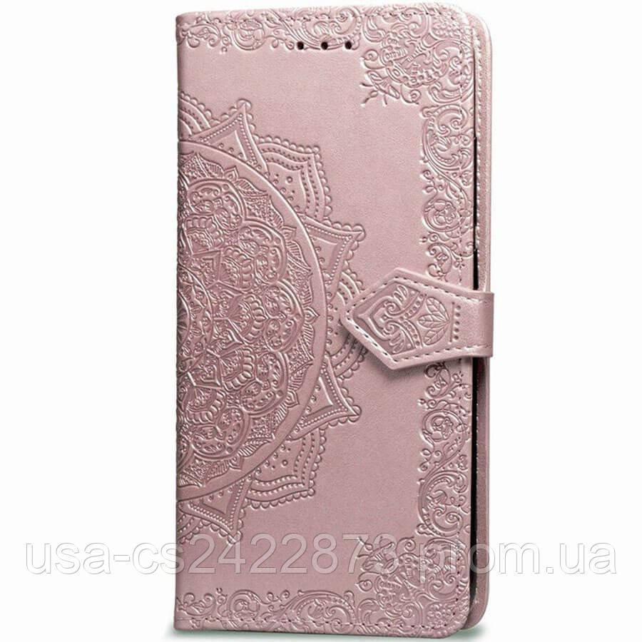 Кожаный чехол (книжка) Art Case с визитницей для Huawei P Smart Z