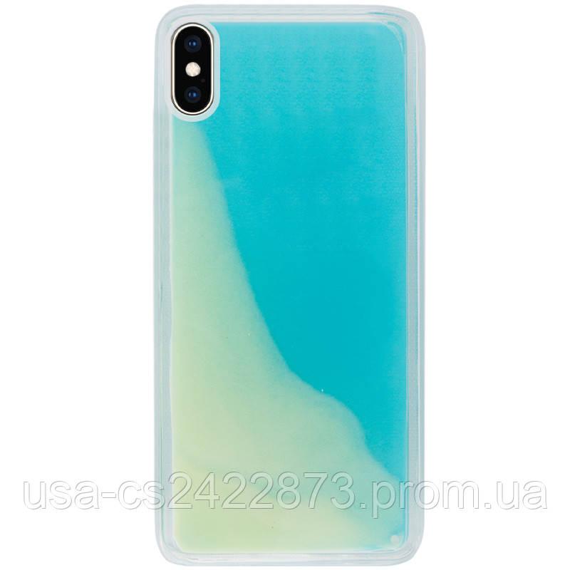 "Неоновый чехол Neon Sand glow in the dark для Apple iPhone XS Max (6.5"")"