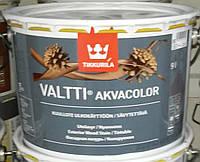 Антисептик Valtti Akvacolor Tikkurila для дерева Валтти Акваколор 9л, фото 1